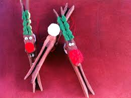 how to make clothespin reindeer ornaments a classic craft