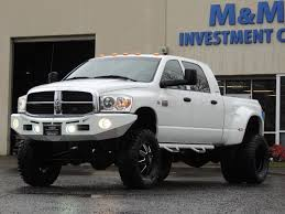 dodge ram mega cab dually for sale 2007 dodge ram 3500 dually 4x4 mega cab 5 9 diesel 6 speed lifted