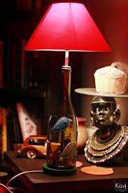 Upcycled Wine Bottles - upcycled wine bottle poem lamp lamps u0026 shades indiebazaar