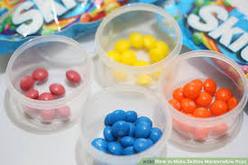 how to make skittles marshmallow pops 4 steps with pictures