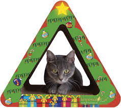 Cardboard Cat Scratcher House Imperial Cat Giveaway For You And Your Shelter The Tiniest Tiger