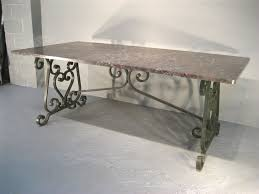 French Kitchen Island Marble Top Mortimer Elm Wood Iron Dining Table P Monotone Usa Islands For