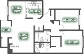 Two Bed Two Bath Apartment Luxury Apartment Floor Plans Pasadena Ridge Luxury Apartments