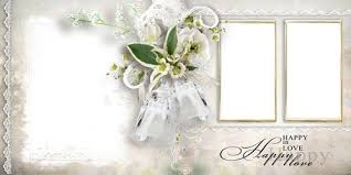 wedding photo book templates psd just married