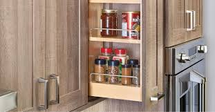 kitchen cabinet organizer shelf small how to choose a pull out spice rack for cabinets