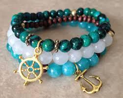 beading elastic bracelet images Boho stretch bracelets yoga bracelets elastic beaded elastic jpg