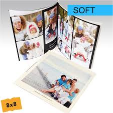 8x8 photo book custom soft cover photo book