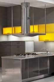 Steel Kitchen Cabinets Kitchen Of The Day Modern Stainless Steel Kitchen Cabinets 1 Of