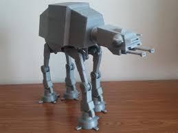 3ders org 3d print motorized star wars walker robot 3d