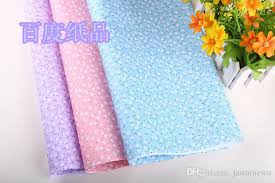 high christmas wrapping paper pastoral floral printing gift wrapping paper birthday wedding favor
