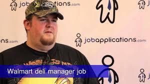 Deli Clerk Job Description Walmart Interview Deli Manager Youtube