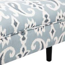 Bed Bench Ottoman Vintage Bed Bench Armed Ottoman Footstool End Of Bed Upholstered