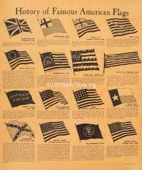 First Navy Jack Flag History Of Famous American Flags Poster Large Poster Size