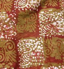 dyed batik fabric 5 yards afrimod