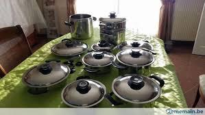 batterie de cuisine amc batterie de casseroles amc état nickel a vendre 2ememain be