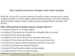 qa tester cover letter cover letter sample for quality assurance