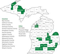 Michigan County Map With Cities by Pace Program Coming To Traverse City Oct 13 The Eag Of North