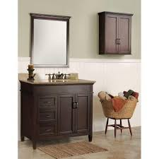 home depot vanity cabinet only foremost ashburn 36 in w bath vanity cabinet only in mahogany
