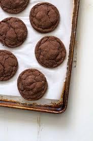 chocolate cardamom cookies versus dough
