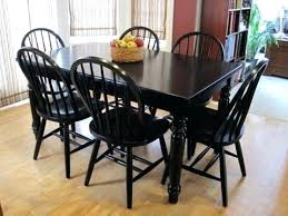 black dining room chairs set of 4 black dining room table small round dining room table large size