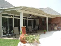 covered patio using snap n lock sip roof and permawood scalloped
