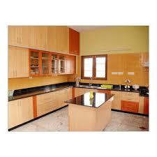 modern kitchen design kerala stylish modular kitchen