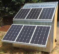 diy solar solar station lander standalone solar power unit you can build