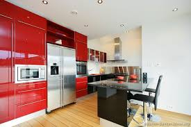 black and red modern kitchen video and photos madlonsbigbear com