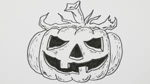 halloween pumpkin cartoons how to draw a halloween pumpkin jack o u0027lantern cartoon comic