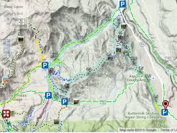 Park City Utah Trail Map by A Look At Aspen U0027s Newest Mtb Trails At Sky Mountain Park