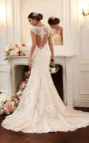 robe de mariã e avec dentelle robes de mariée stella york printemps 2016 mlle escarpins