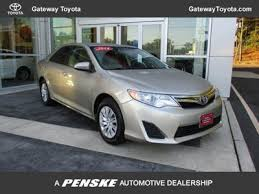 pictures of 2014 toyota camry 2014 used toyota camry 4dr sedan i4 automatic le at gateway toyota