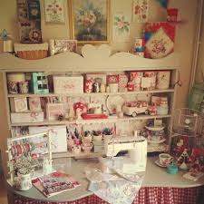 Craft Studio Ideas by Colorful Sewing Room Love Vintage Sewing Studio Sewing Room