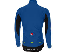 cycling jacket blue castelli transition cycling jacket aw17 merlin cycles