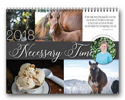 necessary time 2018 the calendar briana thomas