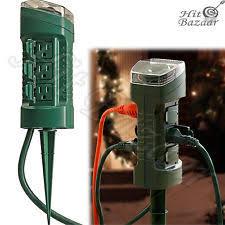 outdoor outlet timer ebay