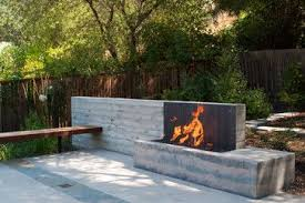 Landscape Fire Features And Fireplace Image Gallery 19 Best Rock Fire Features Images On Pinterest Backyard Ideas