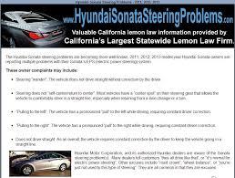 hyundai sonata problem 2013 hyundai sonata steering problems