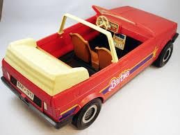 barbie convertible barbie vw golf convertible cabriolet mattel 1981 ref 8298