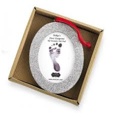 mud pie christmas ornaments oval handprint frame ornament by mud pie baby christmas ornaments