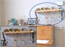 building a wall mounted wine glass rack beginning with the end in