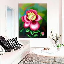 best print no 242 flower wall painting amazing oil painting color
