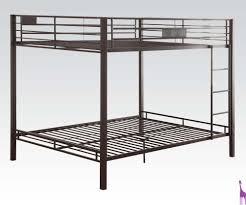 Black Bunk Beds Q Q Bunk Bed Acme 38015