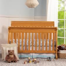 Oak Convertible Crib Davinci Kalani 4 In 1 Convertible Crib Honey Oak Babies R Us