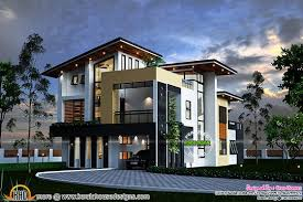 Modern Home Design 4000 Square Feet August 2015 Kerala Home Design And Floor Plans