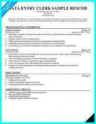 data entry resume data entry sle resume help with a data entry specialist resume