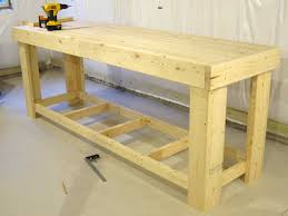 bench woodworking bench designs simple workbench plans l shaped