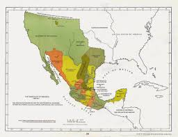 Map Of Continental United States by Colonialmexicoinsideandout Colonial Mexico In The Continental