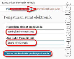 tutorial membuat wordpress lengkap pdf begini cara membuat form kontak di wordpress
