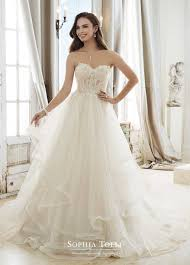 wedding dress images tolli strapless y11867 cleo style wedding dress with semi